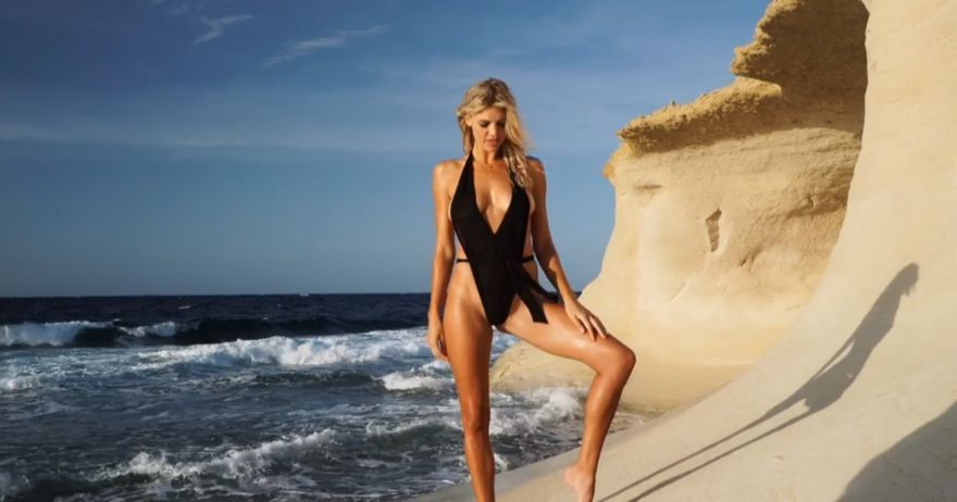 [WATCH] Sunny Malta stages a backdrop for Sports Illustrated swimsuit shoot